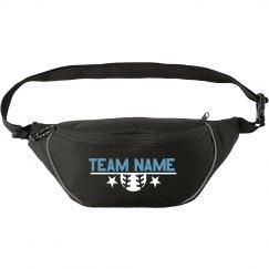 Custom Softball Team Name Star Fanny Pack