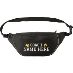 Custom Cheerleading Coach Fanny Pack