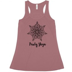 Truly Yoga Mandala Tank (Mauve)