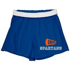 SLMS cheerleading shorts