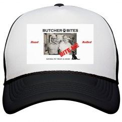 Butcher Bites Trucker Hat Hand Rolled