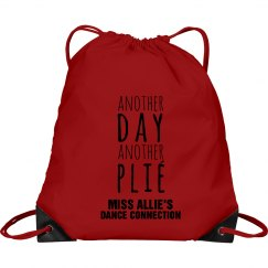 ANOTHER DAY, ANOTHER PLIE BAG