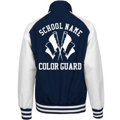 Trending Color Guard School Jackets
