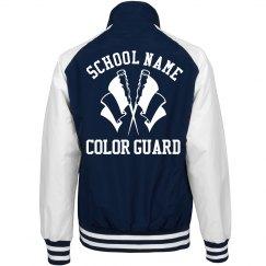 Trending Color Guard School Jackets