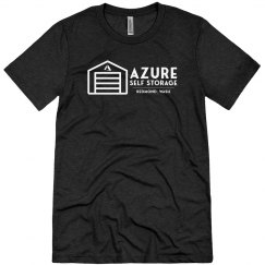 Azure Self Storage Tee Black