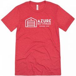 Azure Self Storage Tee Red