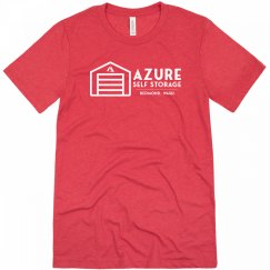 Azure Self Storage Tee Red