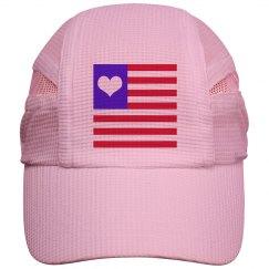 Love American Ladies Running Cap