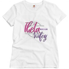 Theta Wives Club shirt