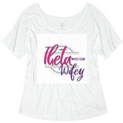 Ladies Flowy Slouchy Tee