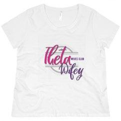 Promo Ladies Plus Size Crewneck  Tee