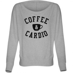 Coffee & Cardio Flowy Long Sleeve