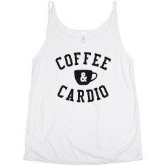 Coffee & Cardio Slouchy Tank