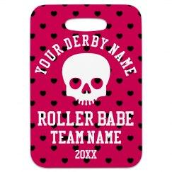 Roller Derby Bag Tag