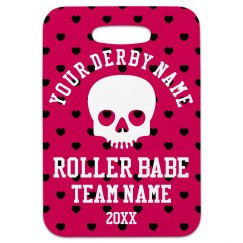 Roller Derby Bag Tag