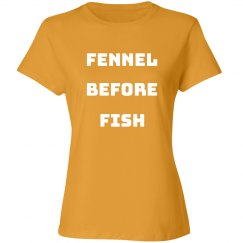 Vegetarian Fennel Before Fish