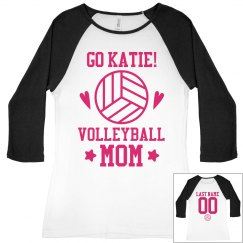 Volleyball Mom Cheer