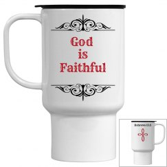 God is Faithful Mug