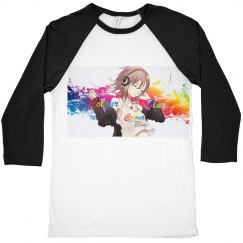 Unisex Colour Blur Canvas Tee