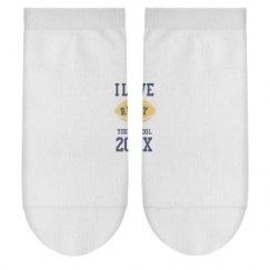 Ladies Hanes No-Show Ankle Socks