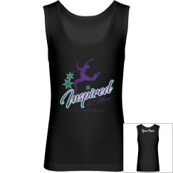 Boys i2m Competition Dance Team Logo Tank