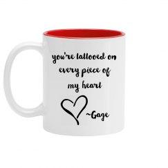 Gage Quote mug