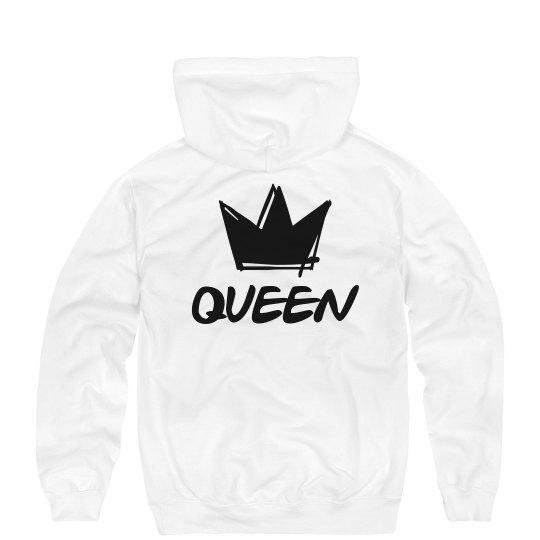 2f888a1d76 Graffiti King & Queen Hoodies 2 Unisex Ultimate Cotton Heavyweight Hoodie