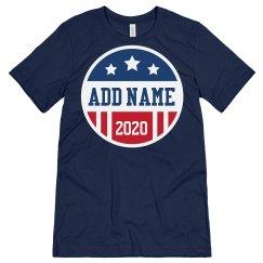 Custom Name 2020 Election Campaign