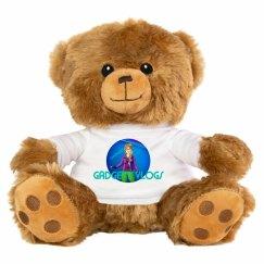 GADGET'S vlogs teddy Purple logo