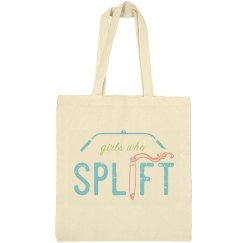 Girls Who Splift Lat Bar Tote