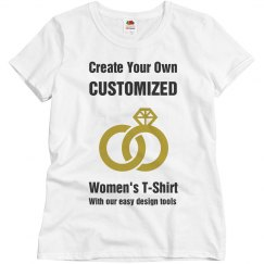 Custom Bridal Party T-Shirt