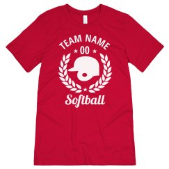 Create a Custom Softball Tee
