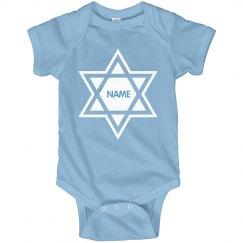 Custom Hanukkah Bodysuit