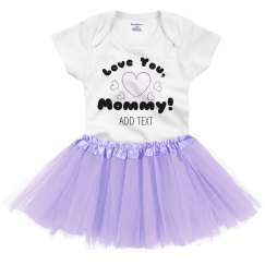 To Mommy, With Love Tutu Onesie