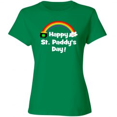 Happy St Paddy's Day Rainbow