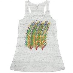 Neon Summer Palm Tree