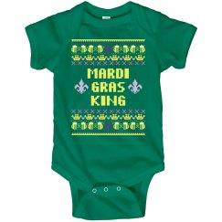 King Baby First Mardi Gras