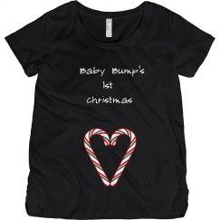Baby bump's 1st christmas