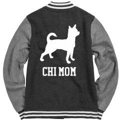 Chihuahua Mom Varsity Jacket