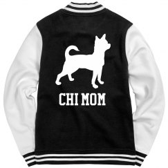 Chihuahua Mom Varsity Jacket