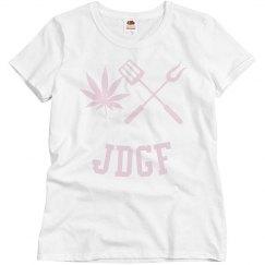 JDGF SHIRT ladies light pink