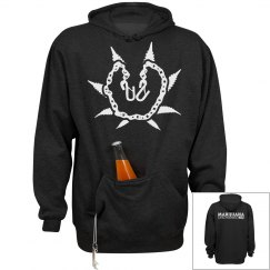 Black/White Hoody