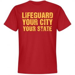 Custom Parody Life Guard Design