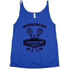 Lacrosse Custom Lax Team Name Tank