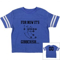 Football Play Toddler Boys Tee