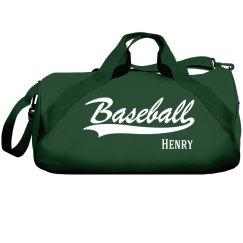 Henry's Baseball Bag