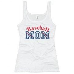 Baseball Seams Mom Tank