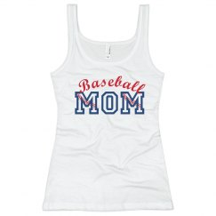 Baseball Seams Mom Tank