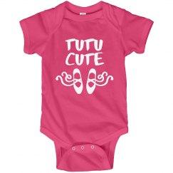 Tutu Cute Ballerina Baby