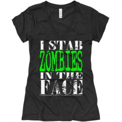 I Stab Zombies Deep V